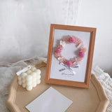 Flowers In Frame - Artificial Flower Photo Frame