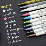 Magic Color Pen - STA Metallic Colored Ink Water Chalk Pen