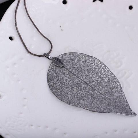 Leaflace - Leaf Shape Necklace & Pendants