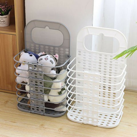 Laundry Basket - Portable And Foldable Laundry Washing Basket Wall-mounted