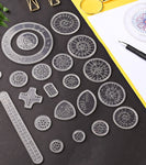 Wheels Drawing - 22 Pcs/set Spirograph Drawing Toys Set Creative Drawing Toy For Children