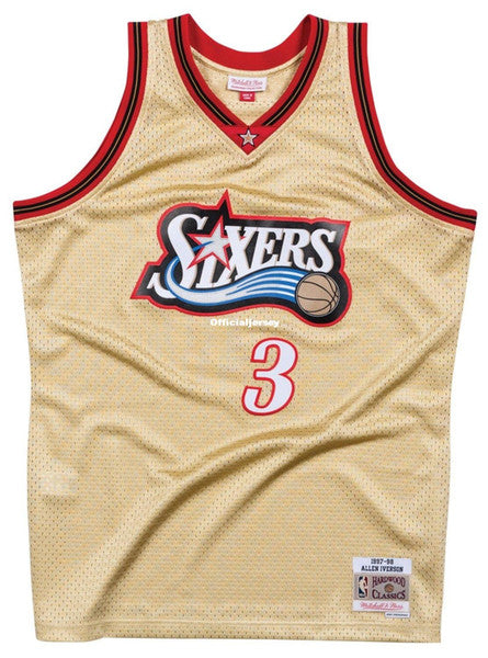 more photos 80e76 213cf Official Jesery Allen Iverson Vintage Throwback Jersey