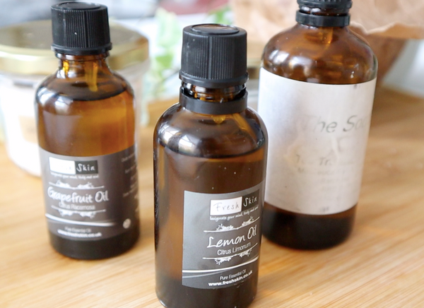 essential oil zero waste
