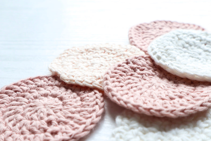 Organic Cotton Make Up Remover Pads ( x 2 )
