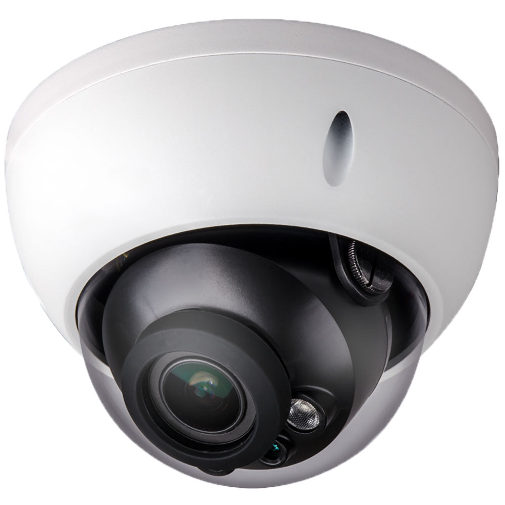 8MP IP Varifocal Vandal Dome Camera, DMS Series