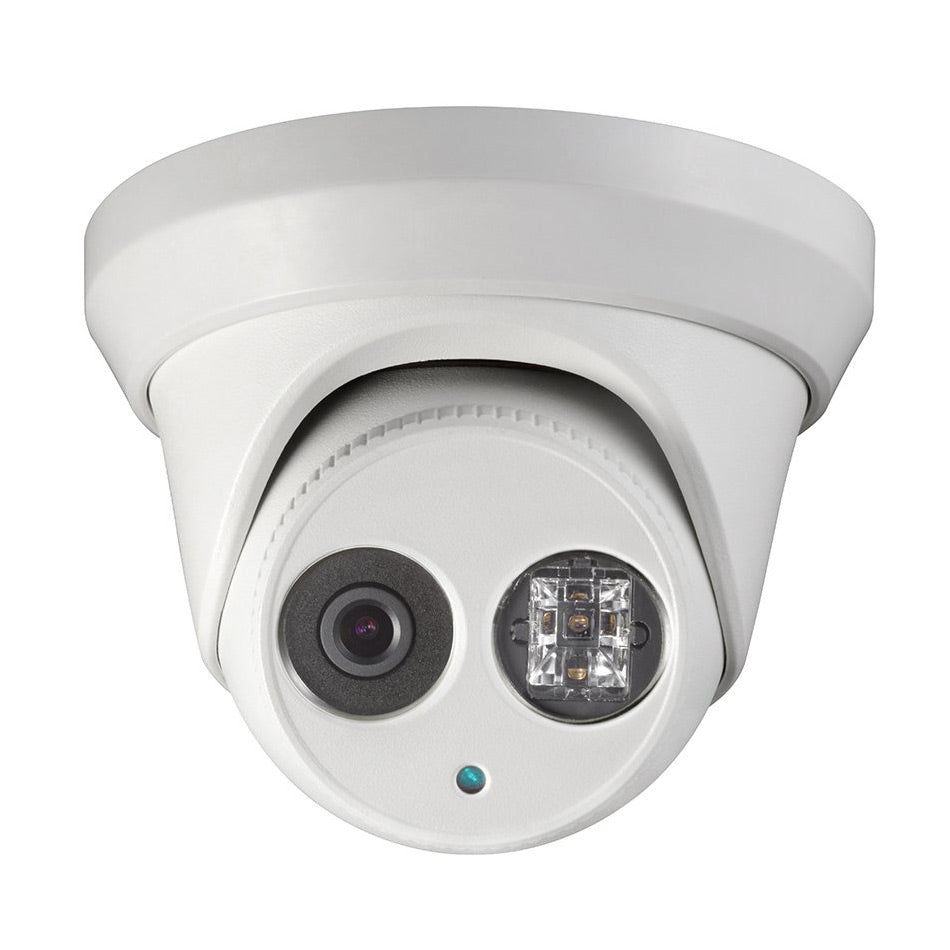 4MP IP Turret Camera with 4mm Lens