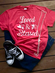 Loved and Blessed Graphic Tee