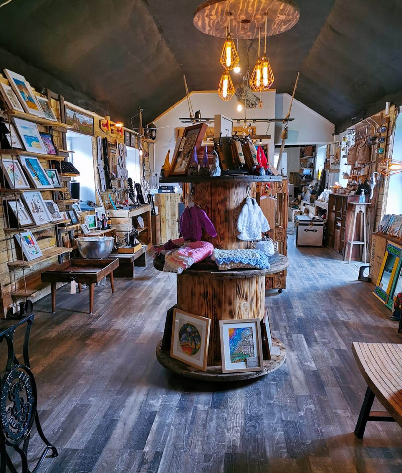 Shambles Workshop gift and craft shop at Glenarm Castle