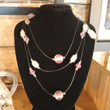 Load image into Gallery viewer, Pink multi necklace