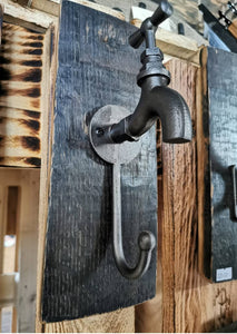 Whiskey Barrel Coat Hook