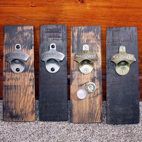 Whiskey Barrel Magnetic Bottle Opener