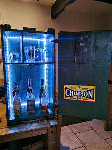 Munitions Box Home Bar