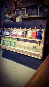 2 Shelf Bar Display