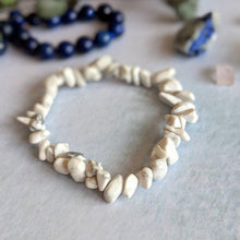 Load image into Gallery viewer, Natural Stone Chip Bracelet