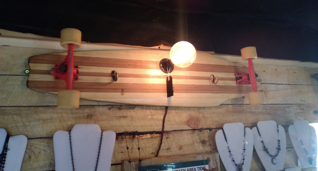 Skateboard/ Longboard Wall Lamp