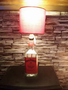 Jack Daniels Tennessee Fire Bottle Lamp