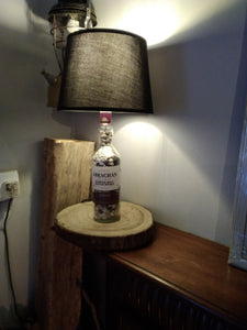 Abrachan Scotch Blend Whiskey Bottle Lamp