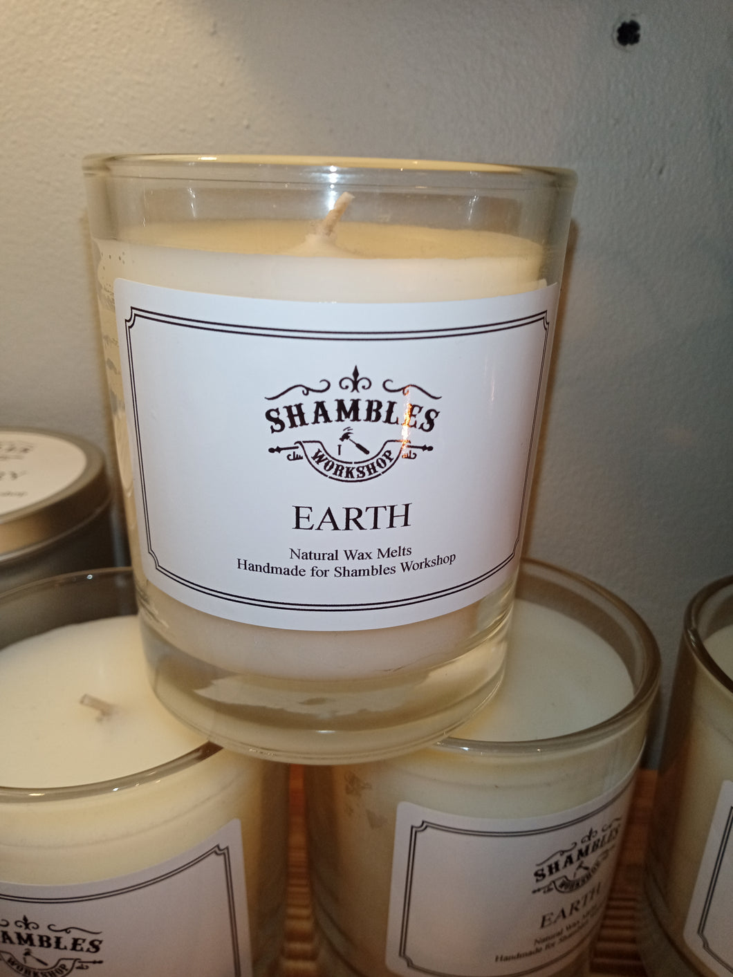 Shambles Workshop Soy Candles & Wax Melts