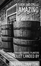 Load image into Gallery viewer, Whiskey Barrel Planters