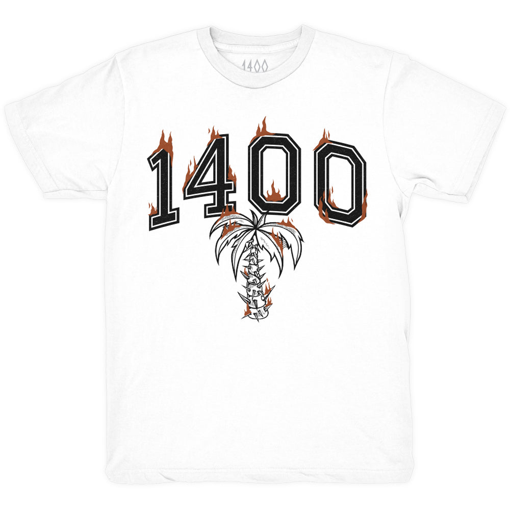 Burnt T-shirt - White
