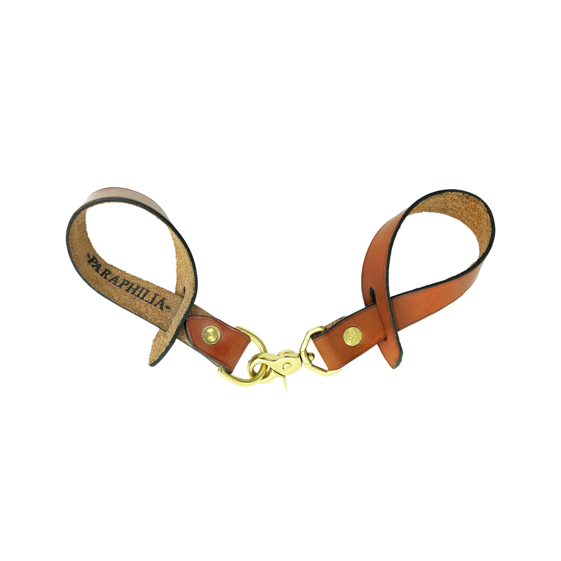 BRIDLE HANGING STRAP W/ D-RING - TAN