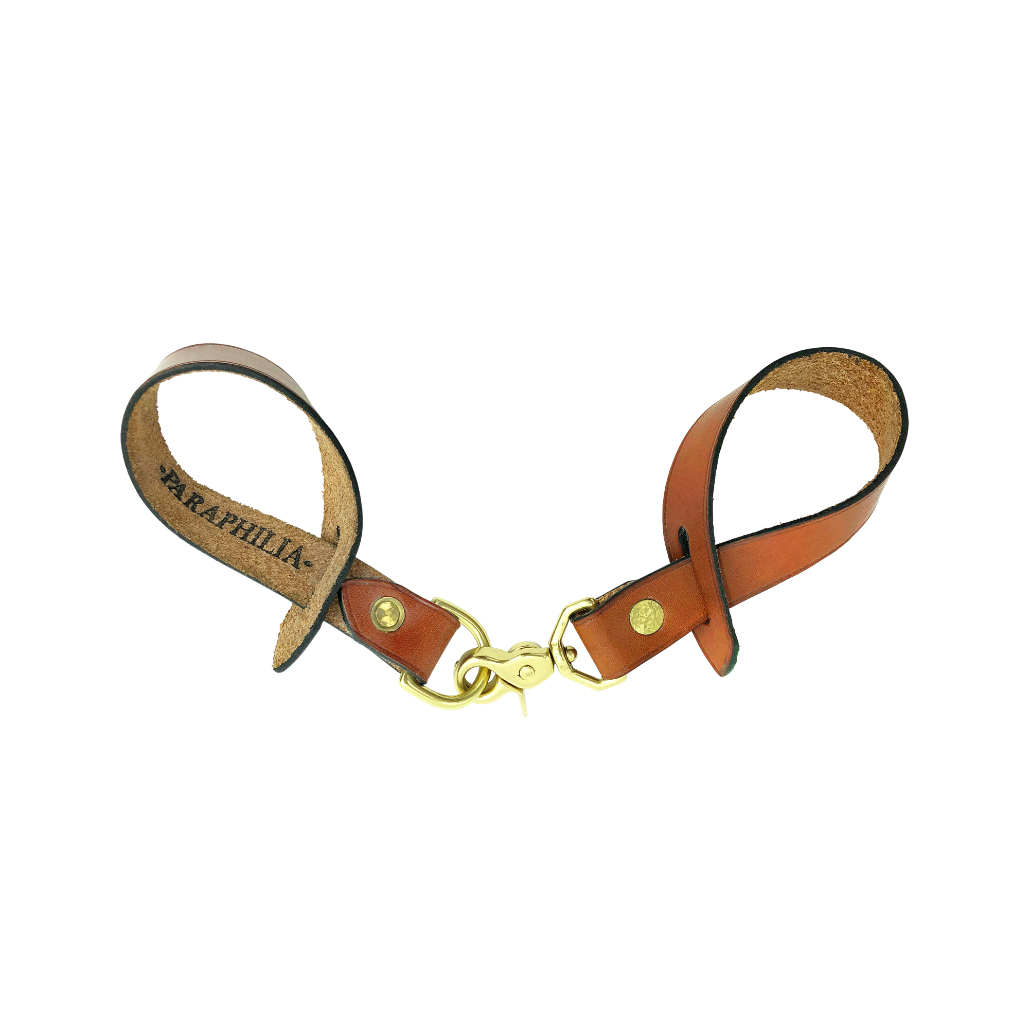 BRIDLE HANGING STRAP W/ CLIP - TAN