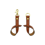 BRIDLE HANGING STRAP PAIR - TAN