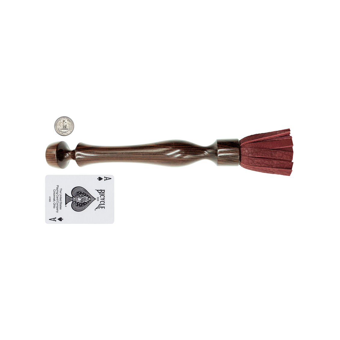 "XL 11"" COCOBOLO FLOGGER REDWOOD BISON"