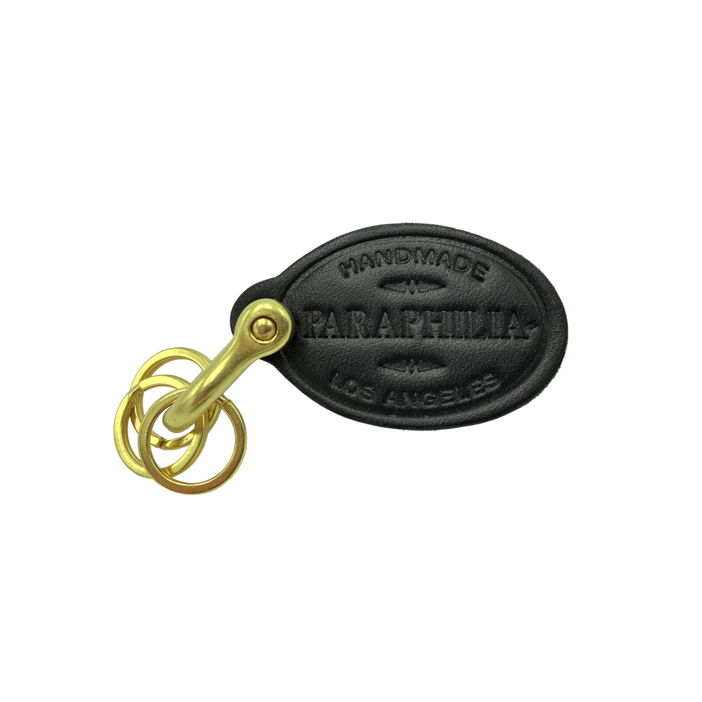 KEYCHAIN - BLACK/GOLD