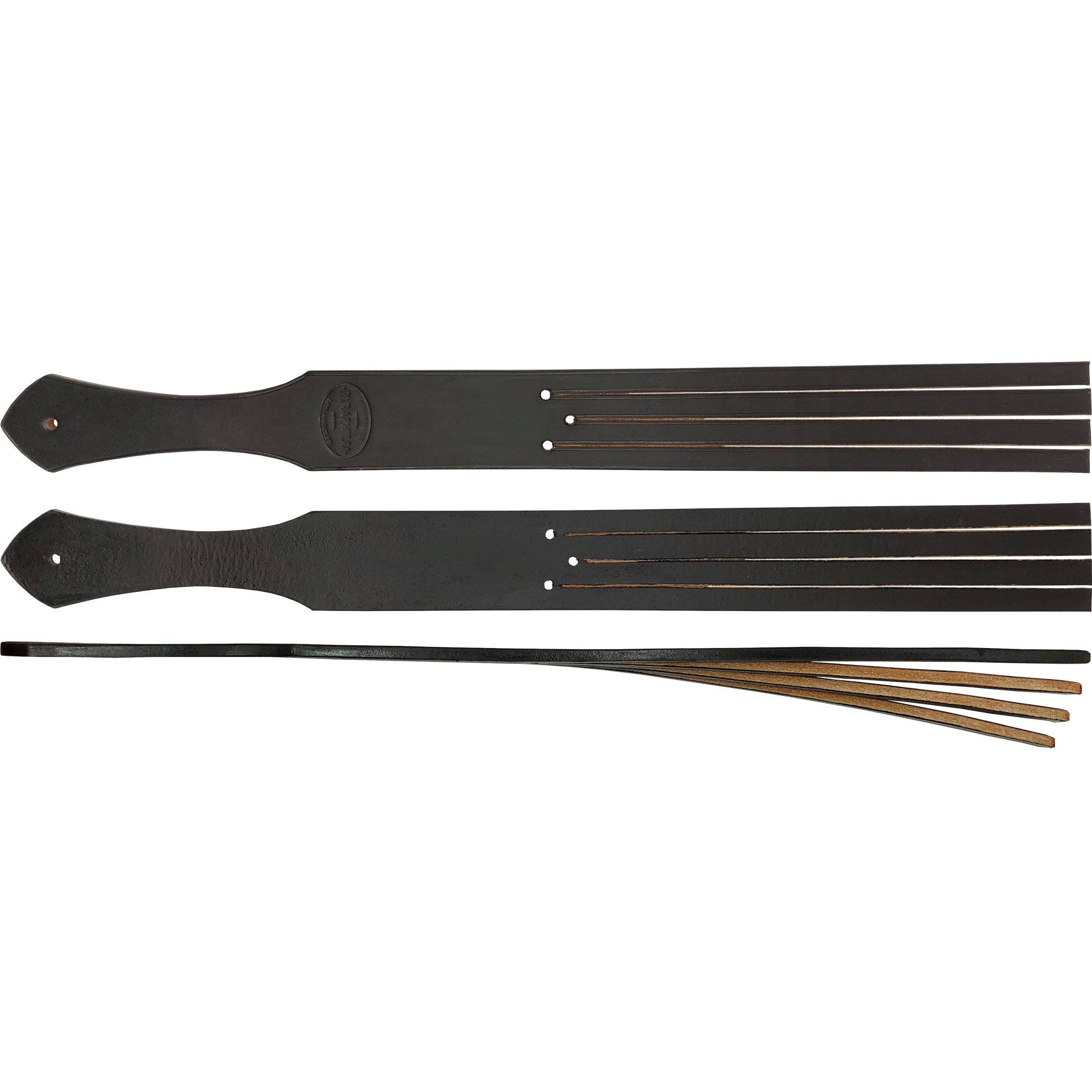 4 TONGUE TAWSE - LONG BLACK