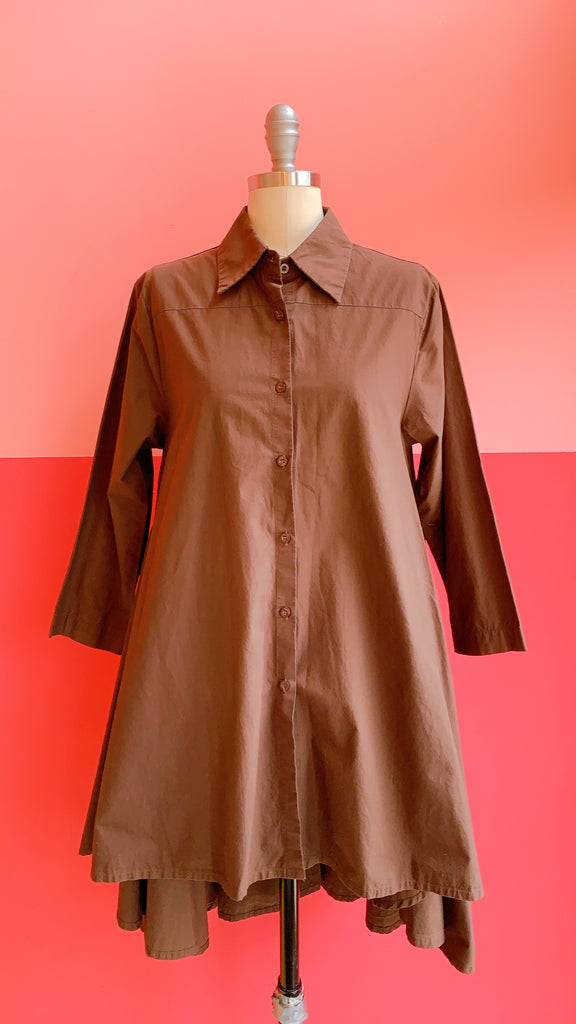Cotton High-Low Tunic, sz. S