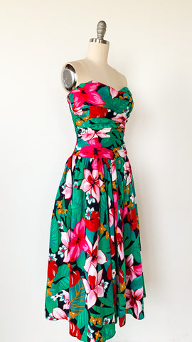 Floral Patchwork Sweater Size: L/XL