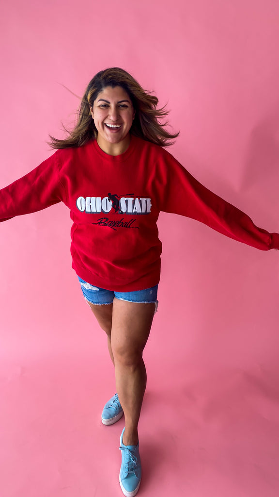 90s Ohio State Sweatshirt Size: XL