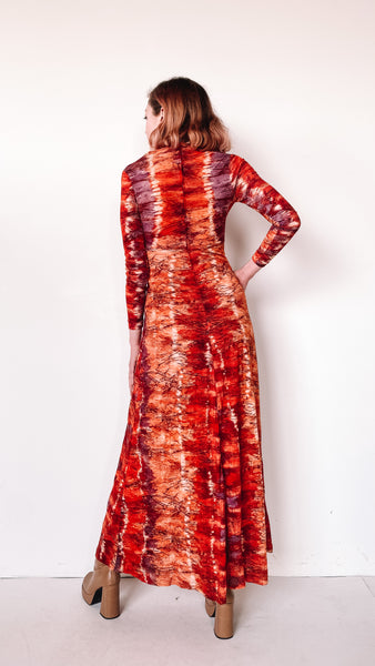 Deep Sleep Paisley Night Dress, sz. S/M