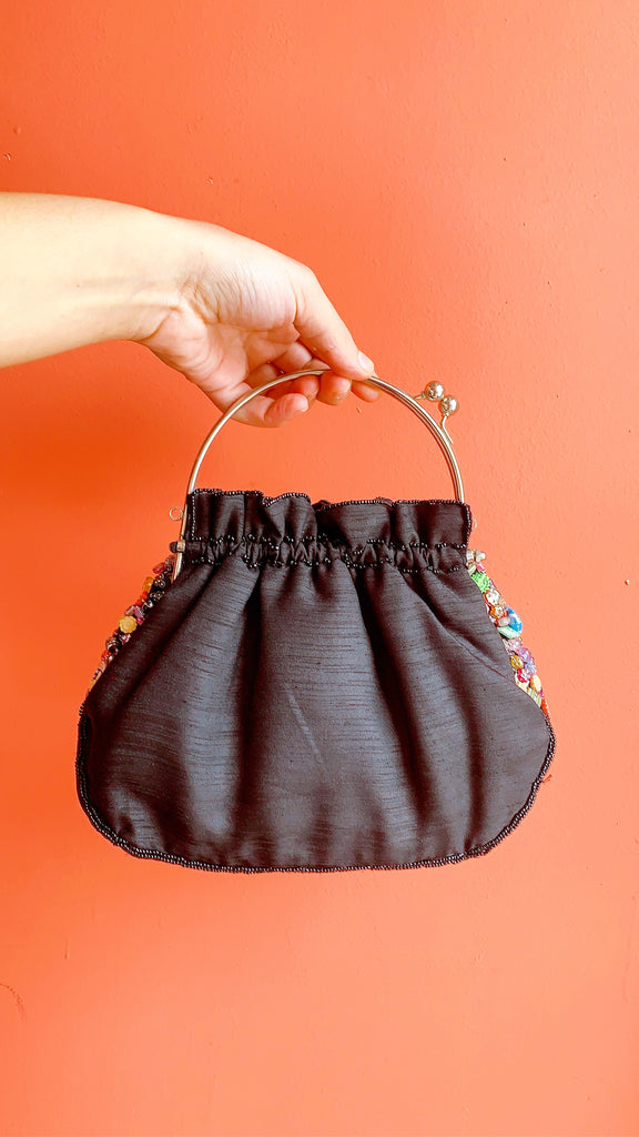 Eclectic beaded bag