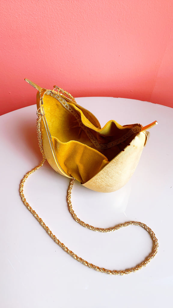 The Golden Pear Purse
