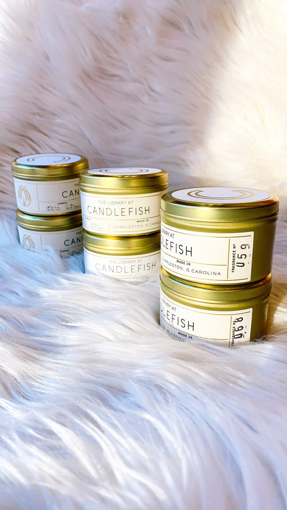 Candlefish No 64 - 2.5 oz Tin