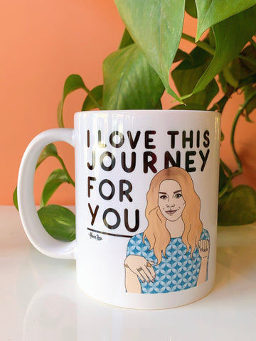 Schitt's Creek Alexis Journey Mug