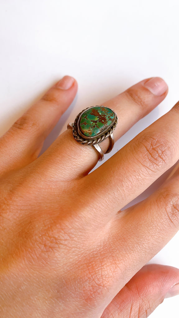 Vintage Sterling and Turquoise rings