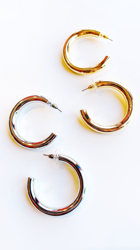 The Diva hoop earrings