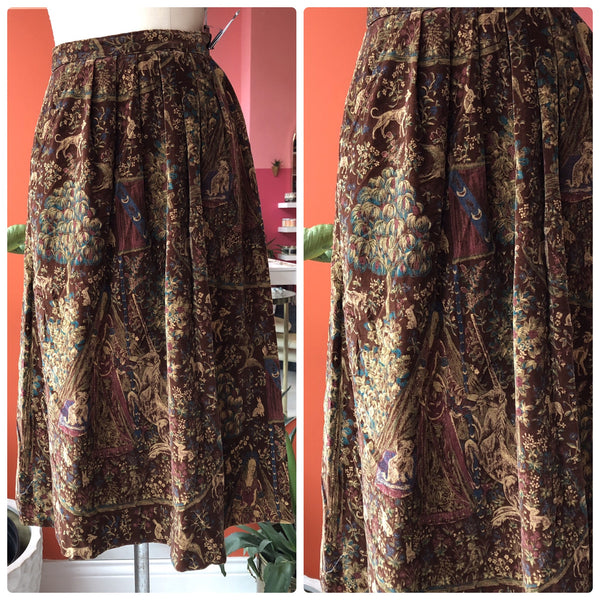 Mother Nature Tapestry Skirt