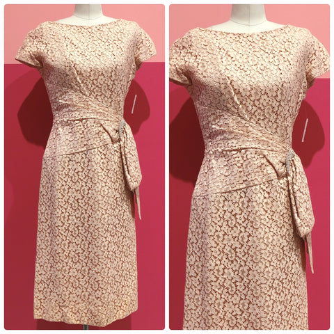 1960s Peaches & Lace