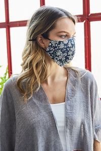 Floral Reusable Cloth Face Mask