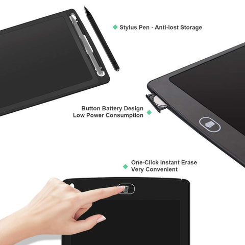 Image of Portable LCD Writing Tablet Sketch Pad