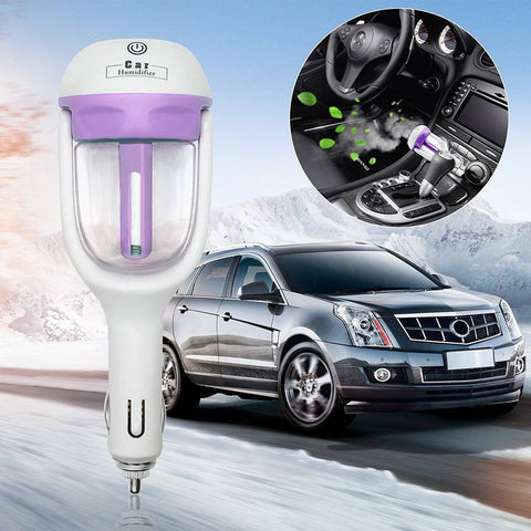 Image of Car Humidifier & Aroma Diffuser 12V