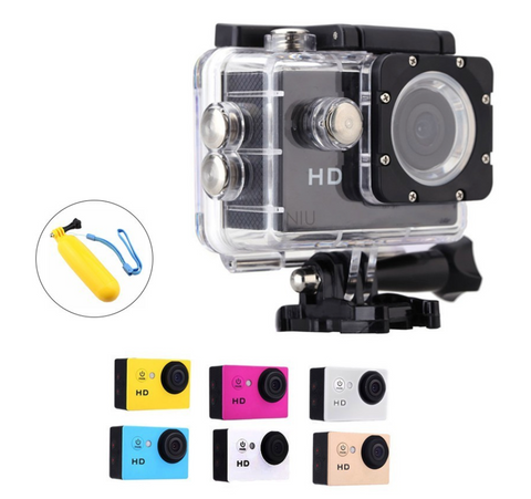 Image of A7 Sports Action Cam Under Water W/ Camera Floater