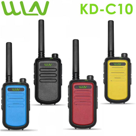 WLN KD-C10 High Power Walkie Talkie (SET OF 2)