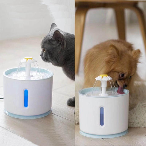 2.4L Pet Drinking Fountain