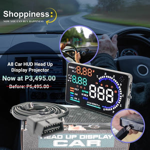 Universal Car Head-up Display - Easy Setup, Install yourself.