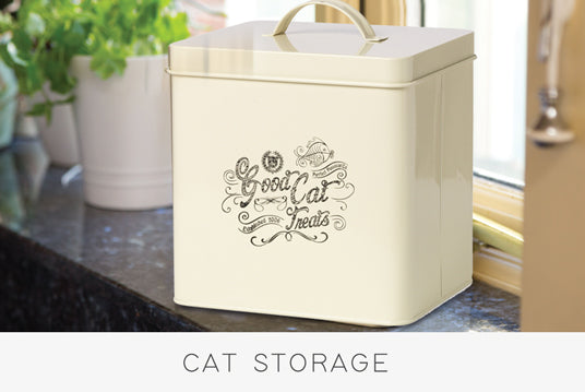 Cat Food Storage